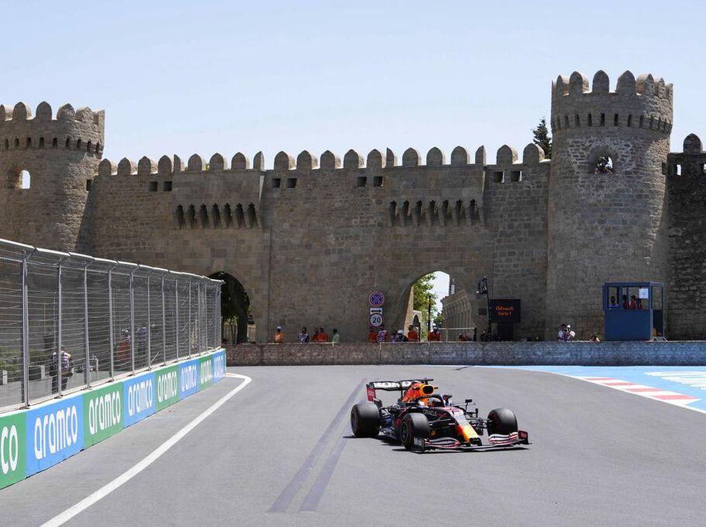 Hasil FP1 GP Azerbaijan 2021: Ungguli Duo Ferrari, Verstappen Tercepat