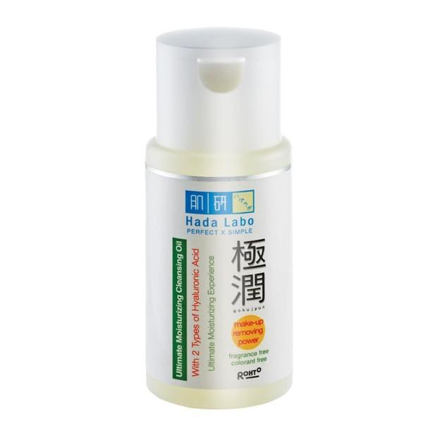 Hada Labo Gokujyun Ultimate Moisturizing Cleansing Oil (sumber : shopee.co.id/debellezashop)
