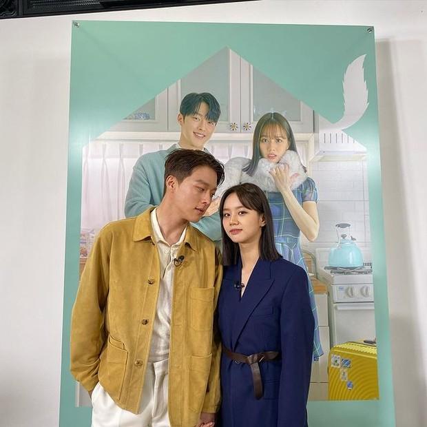 Hyeri dan Jang Ki Young dalam drama My Roommate is Gumiho (foto: instagram.com/heri_0609)
