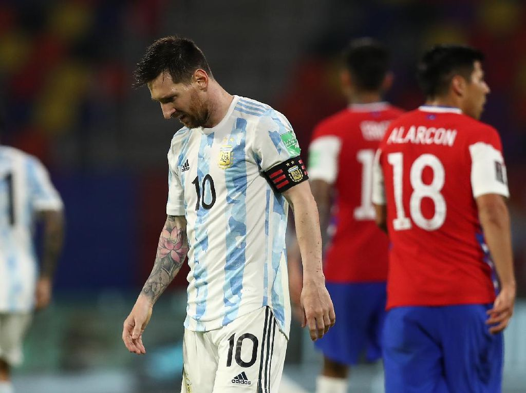 Argentina Gagal Menang Lawan Chile, Messi Buka Suara