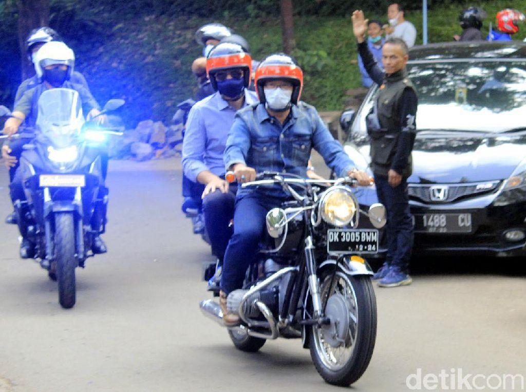 Mengenal Motor yang Dipakai Ridwan Kamil Bonceng AHY