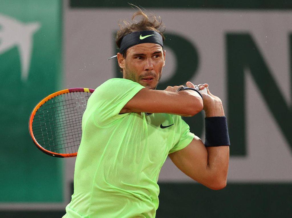 Prancis Terbuka 2021: Nadal, Federer, Djokovic Pijak Babak Ketiga