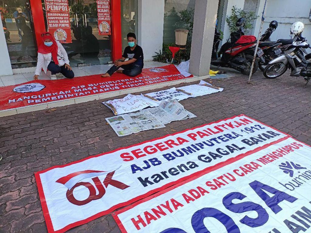 Nasabah Bumiputera di Probolinggo Protes Klaim Asuransinya Tak Kunjung Cair