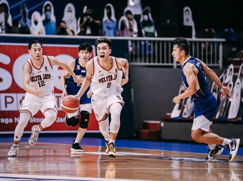 Final IBL 2021: Taklukkan Satria Muda, Pelita Jaya Paksakan Game Ketiga