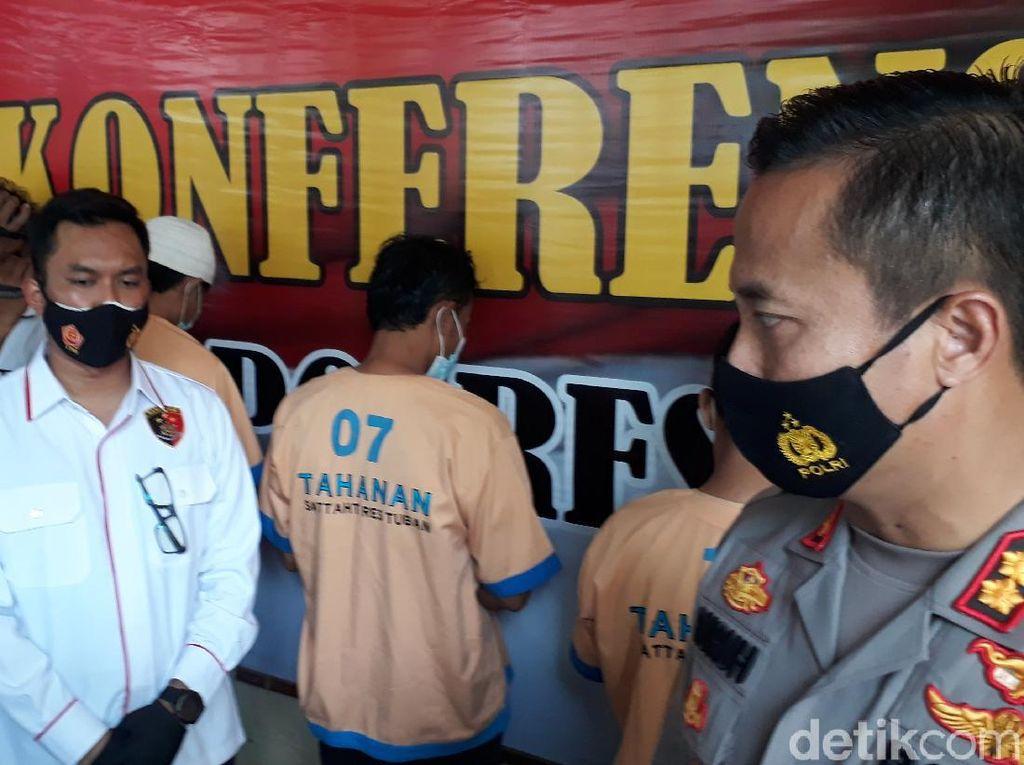 Tak Terima Motor Diambil Debt Collector, Warga Tuban Aniaya Pegawai Leasing