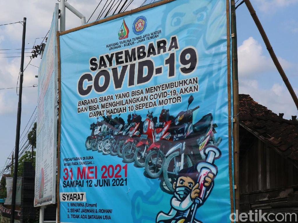 Zona Merah, Pemuda di Kudus Sayembara Obat COVID-19 Berhadiah 10 Motor!