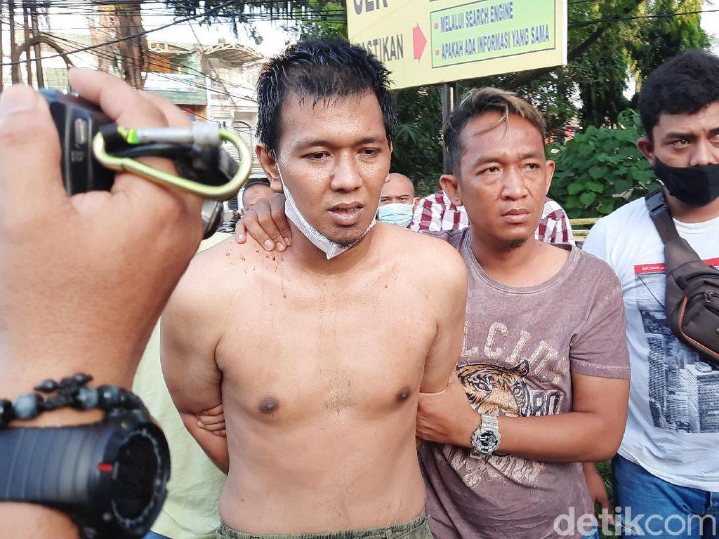 Penusuk Polisi di Palembang Pura-pura Bertanya, Lalu Beraksi Brutal