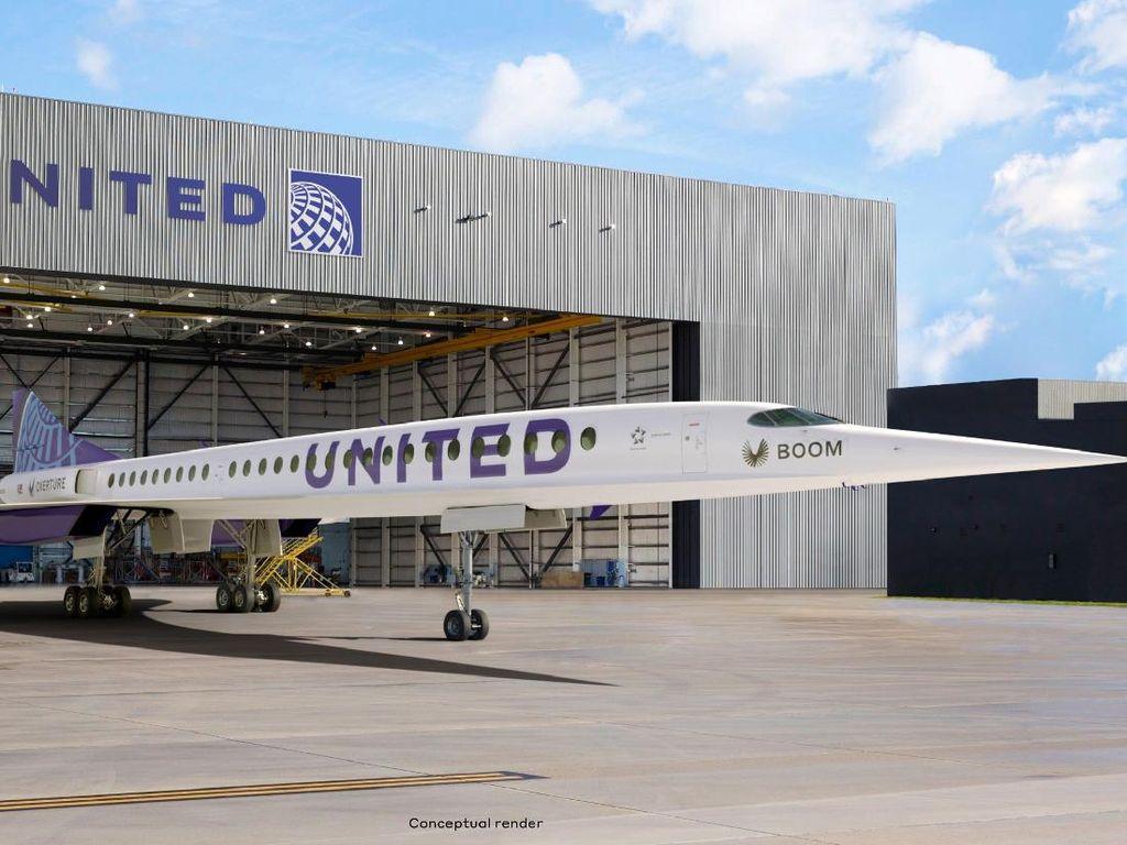Maskapai AS Berambisi Punya Penerbangan Supersonik Komersial di 2029