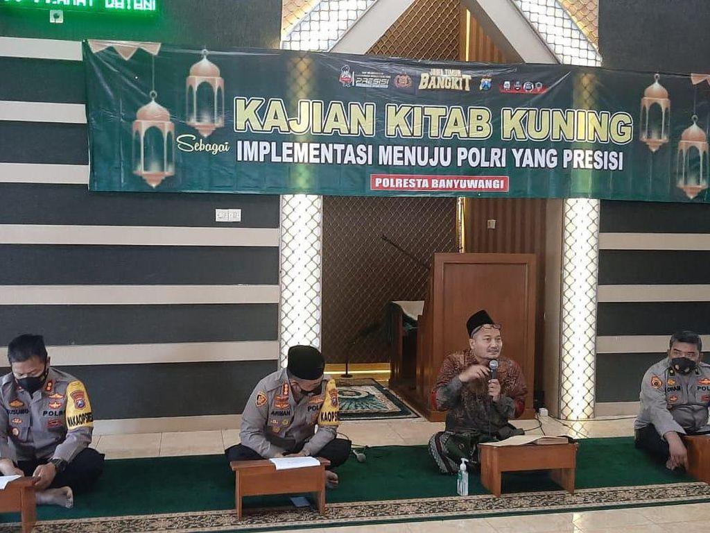 Gandeng Kiai PWNU, Polisi di Jatim Ngaji Kitab Kuning