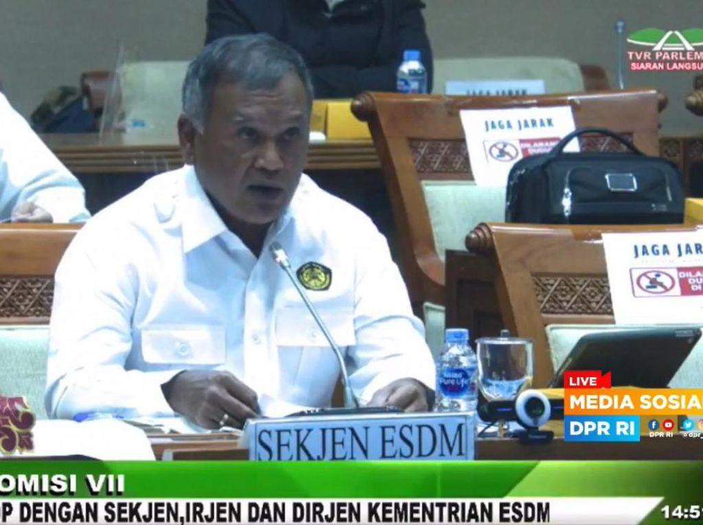 Kementerian ESDM Anggarkan Pagu Rp 5 Triliun di 2022