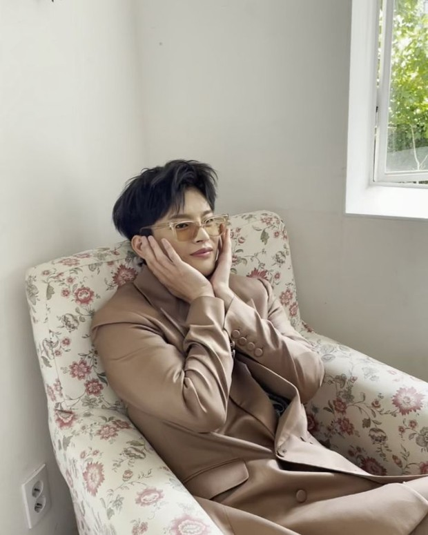 Seo In Guk mencoba berpose cute/instagram.com/seo_cccc