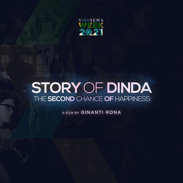 Story of Dinda / sumber : instagram.com/visinemaid
