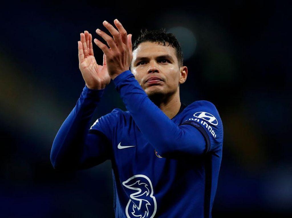 Thiago Silva Resmi Perpanjang Kontrak di Chelsea