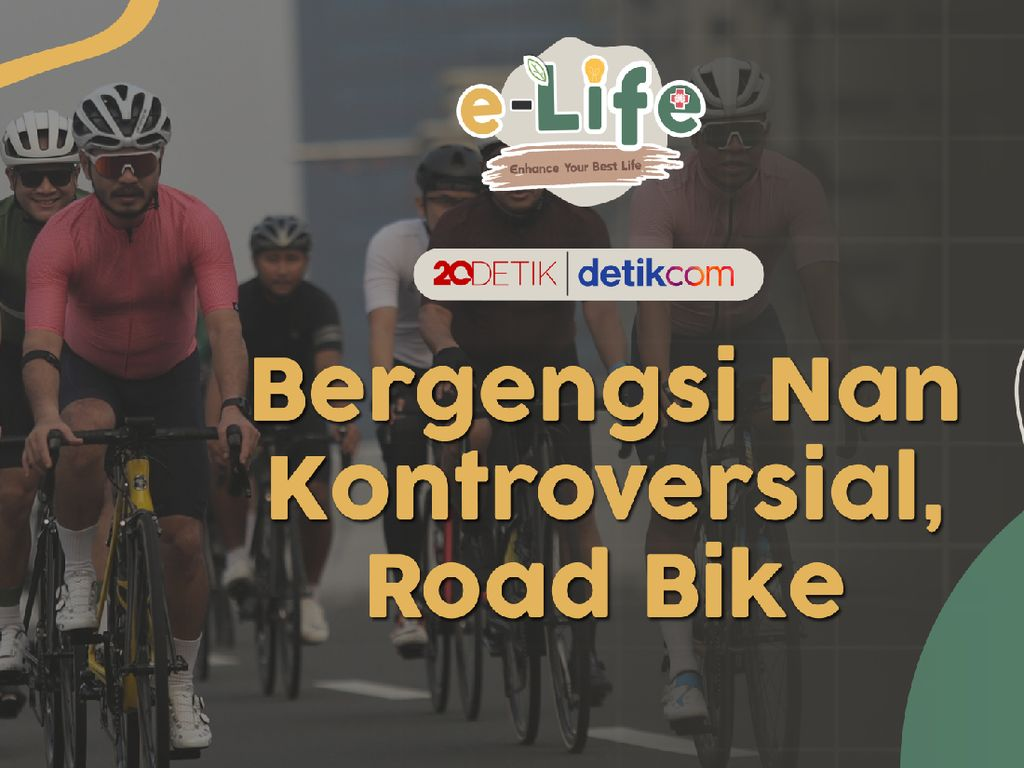 Mengupas Sepeda Road Bike yang Memaksa Lintasi Jalur Umum