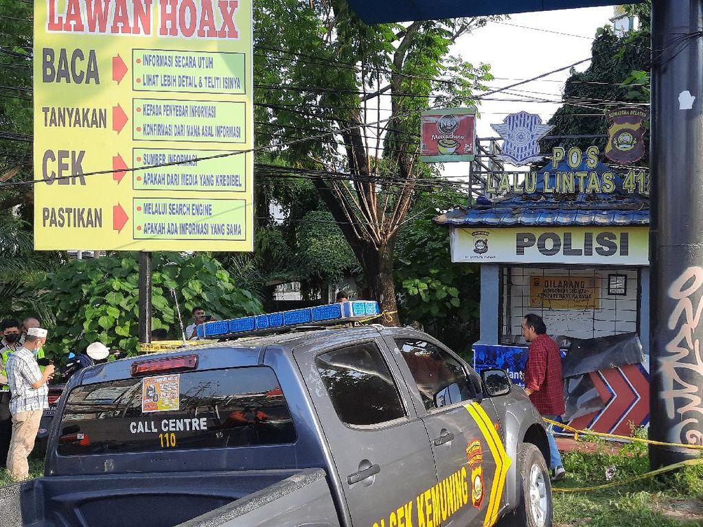 Polda Usut Penusuk Polantas di Palembang Terlibat Jaringan Teroris