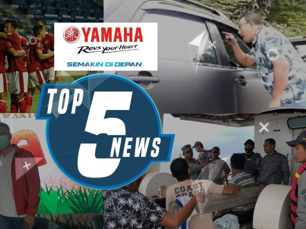Indonesia Imbangi Thailand hingga Polemik Raffi-Nagita Ikon PON Papua