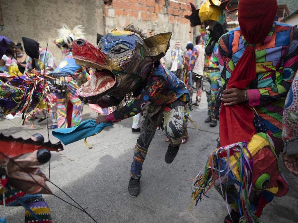 Unik! Ada Tarian Setan di Venezuela