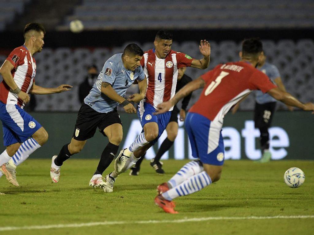 Kualifikasi Piala Dunia: Uruguay Vs Paraguay Tuntas 0-0