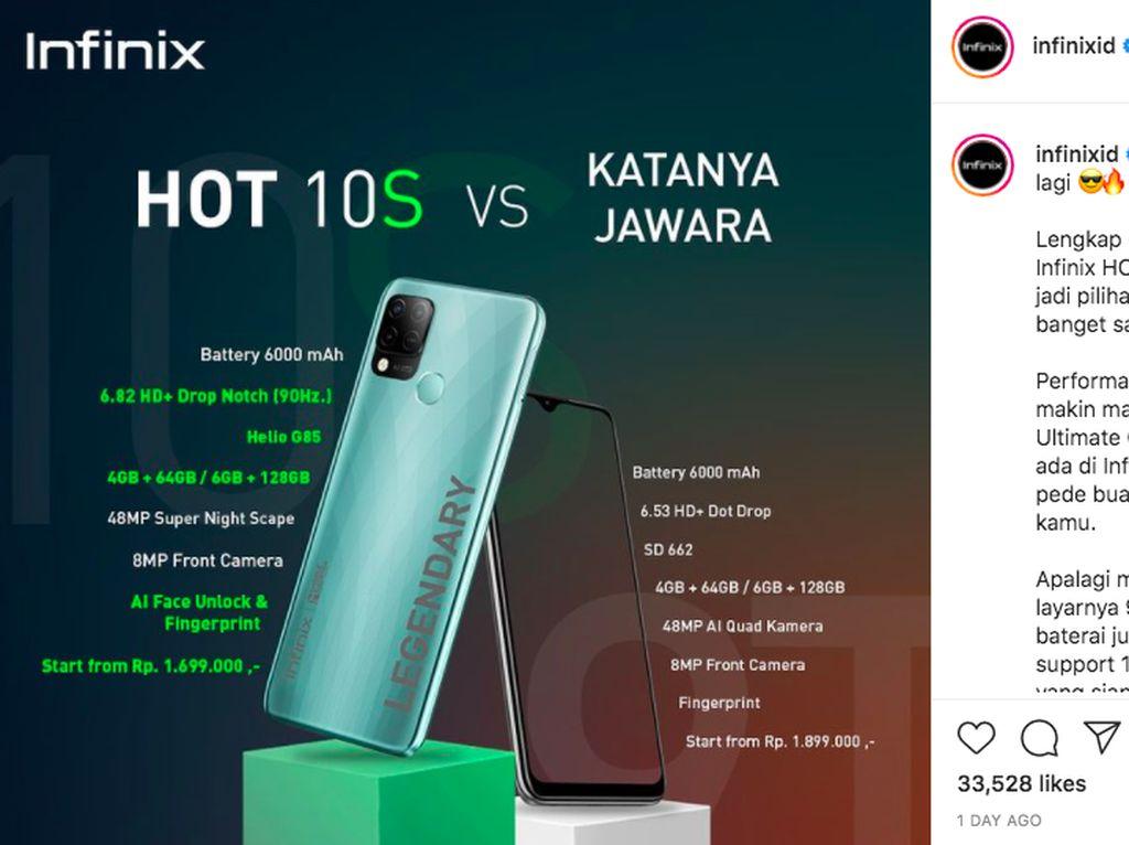 Xiaomi dan Infinix Bertengkar, Ini Kata Pengamat