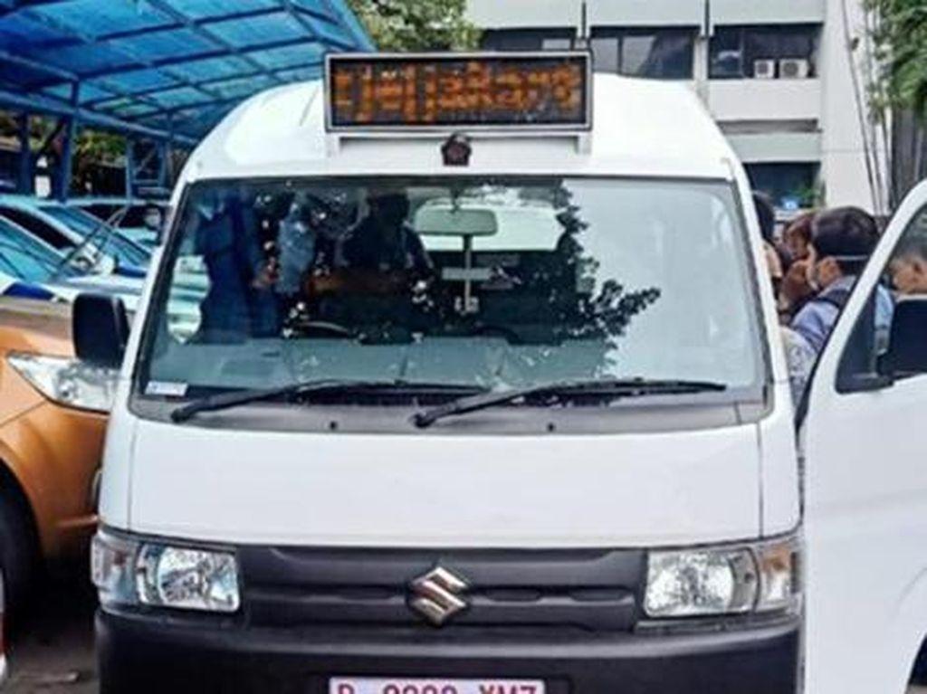 Lebih Aman dan Nyaman, Angkot di Jakarta Punya AC dan CCTV