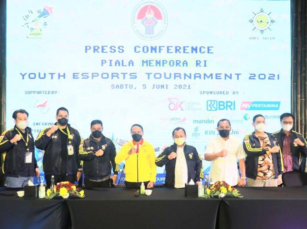 Diikuti 14 Ribu Tim, Ini Pemenang Turnamen E-Sport Piala Menpora