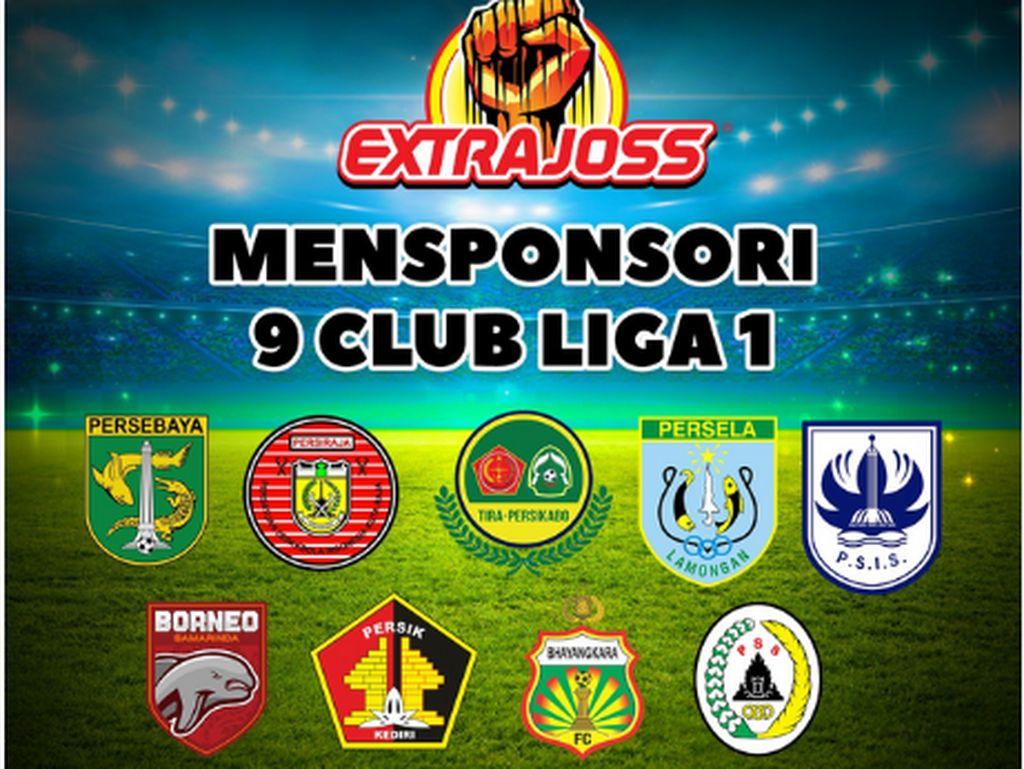 Liga 1 Dimulai, Extra Joss Dukung Kemajuan Sepak Bola Indonesia