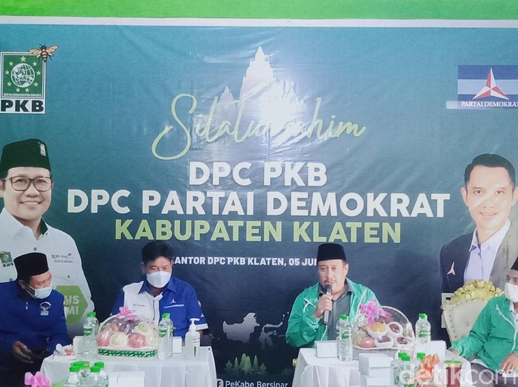 PKB dan PD Klaten Pasangkan Foto Muhaimin-AHY: Embrio Koalisi Nasional