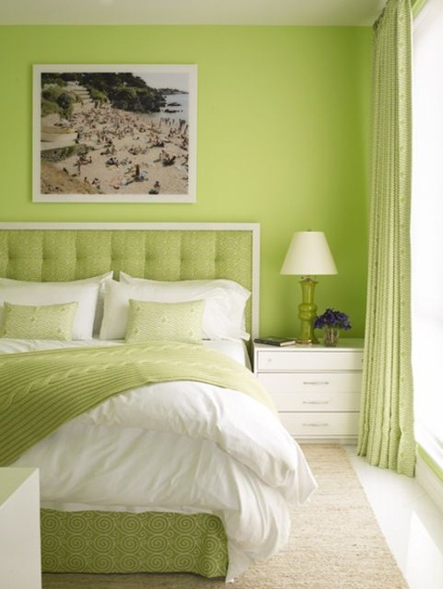 Foto: Warna hijau lemon/pinterest.com/Dering Hall