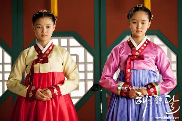 Kim Yoo Jung dan Kim So Hyun dalam 'The Moon Embracing the Sun'/asianwiki.com