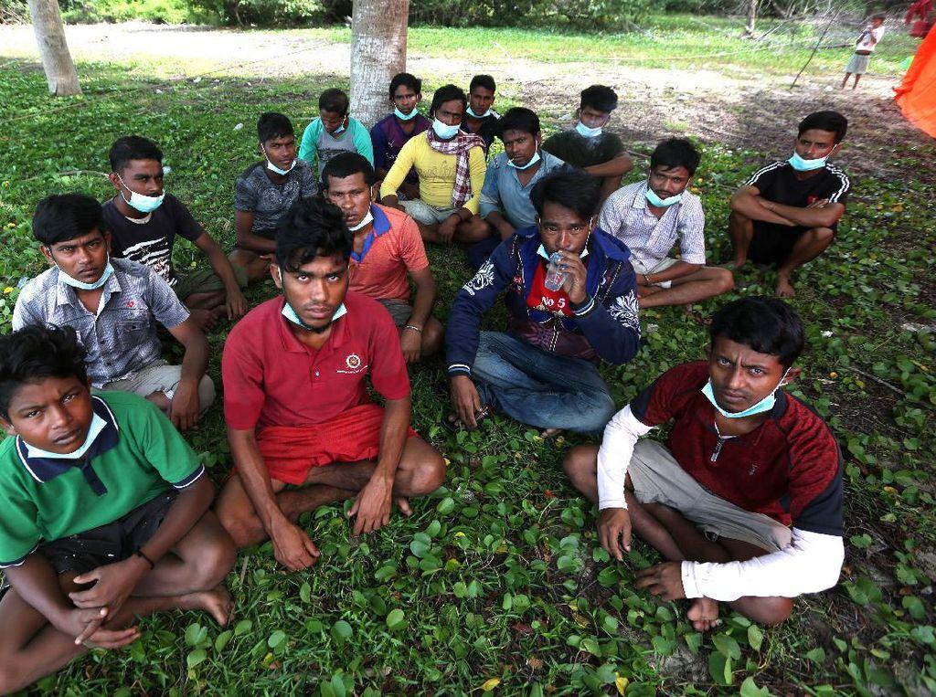 81 Pengungsi Rohingya Masih Terlantar di Aceh