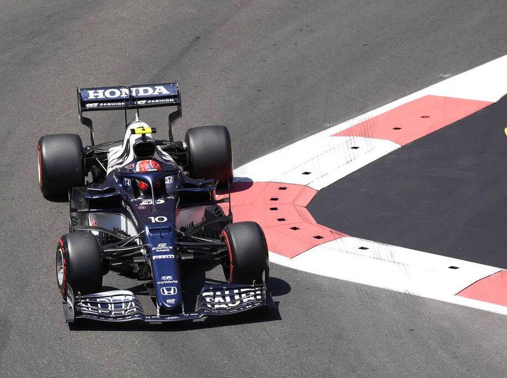 Hasil FP3 F1 GP Azerbaijan 2021: Pierre Gasly Terdepan