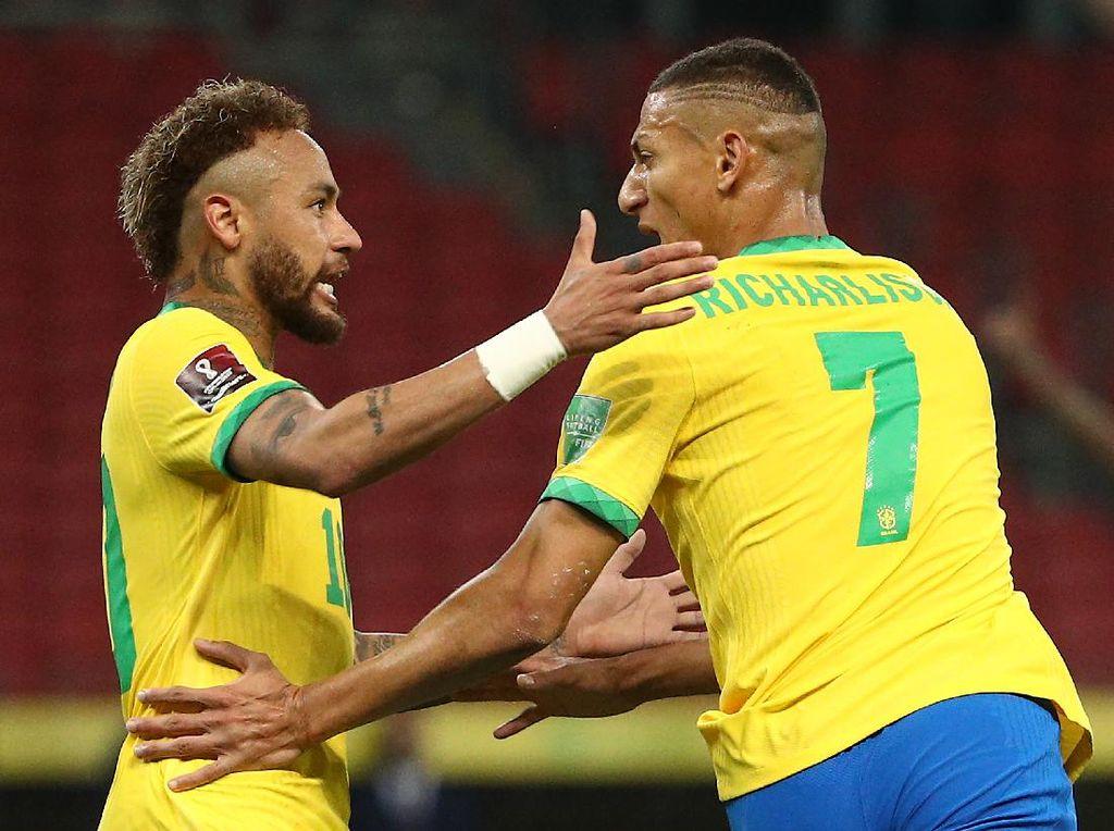 Brasil Vs Ekuador: Richarlison-Neymar Menangkan Selecao 2-0