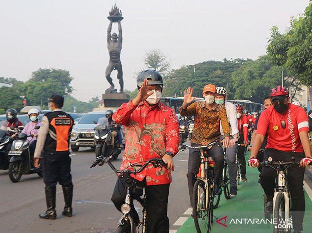Polemik Road Bike, Anies: DKI Fasilitasi Sepeda untuk Transportasi, Bukan Sport