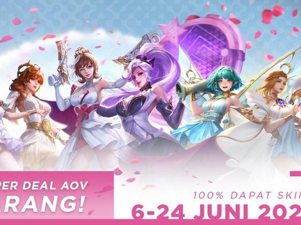 Cek Event Super Deals Arena of Valor, Dapatkan Skin Kece dan Cantik