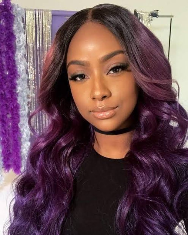 Rambut Deep Violet
