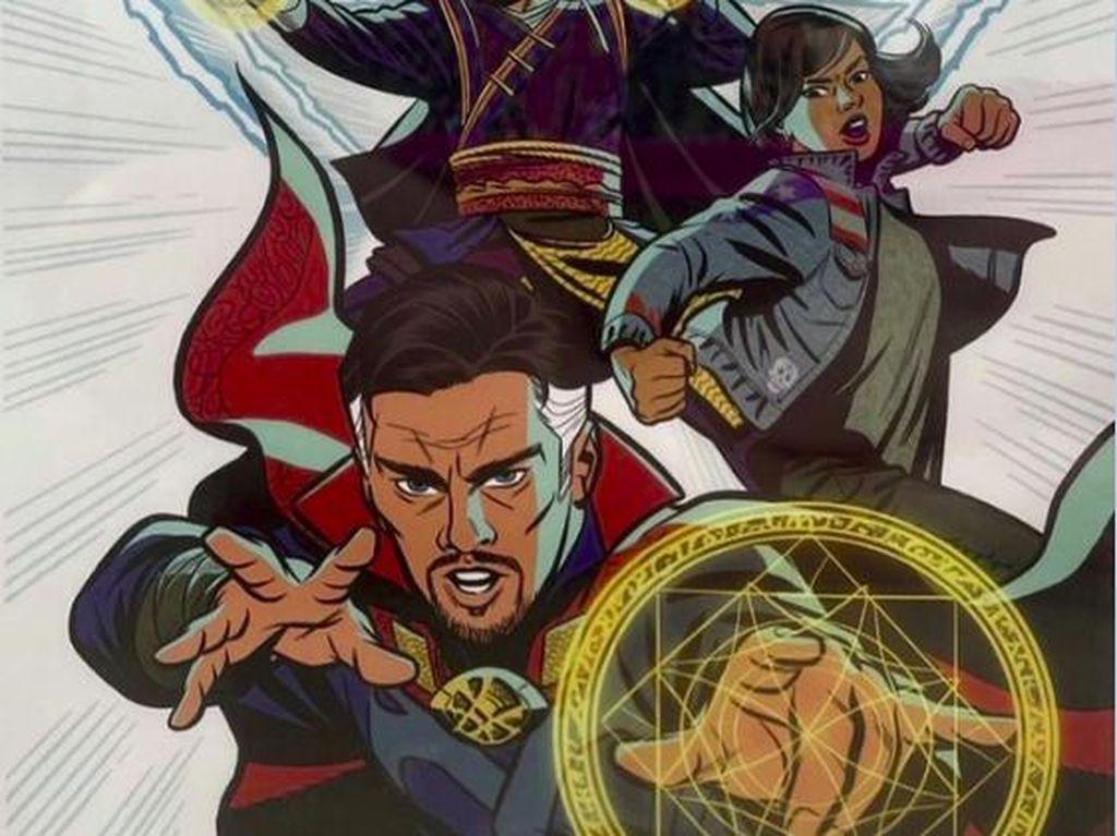 Tampilan Perdana America Chavez Buat Sekuel Doctor Strange 2
