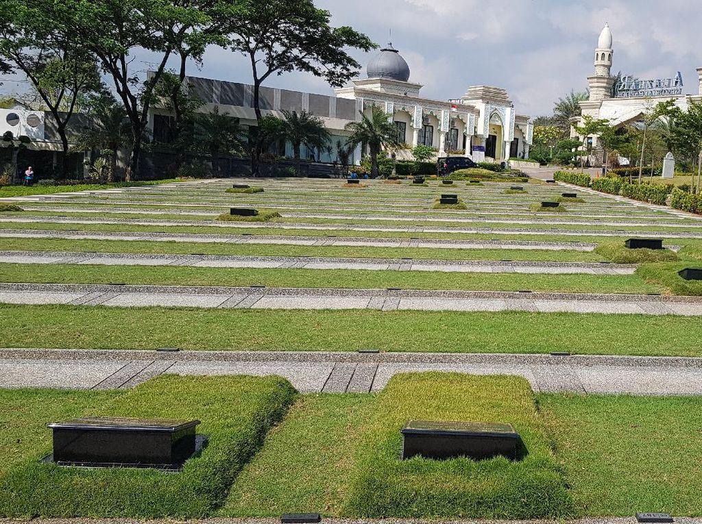 Pemakaman Ini Dibuat Seperti Taman Supaya Tak Terasa Angker