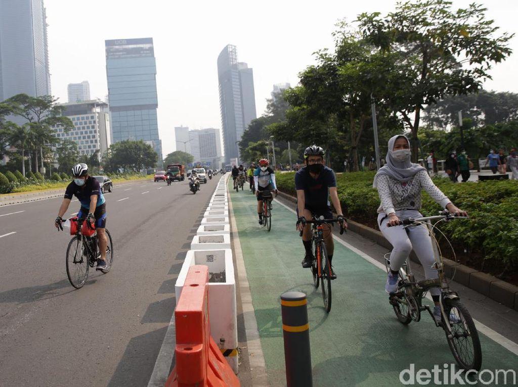 Waka Komisi III DPR Minta Kapolri Evaluasi Jalur Sepeda Sudirman-Thamrin