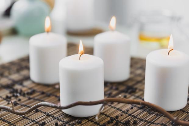 Lilin aroma terapi bantu tingkatkan mood.
