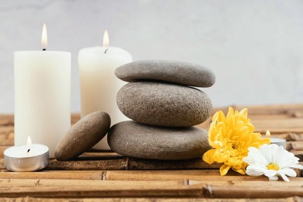 Lilin aroma terapi untuk mengatasi insomnia.
