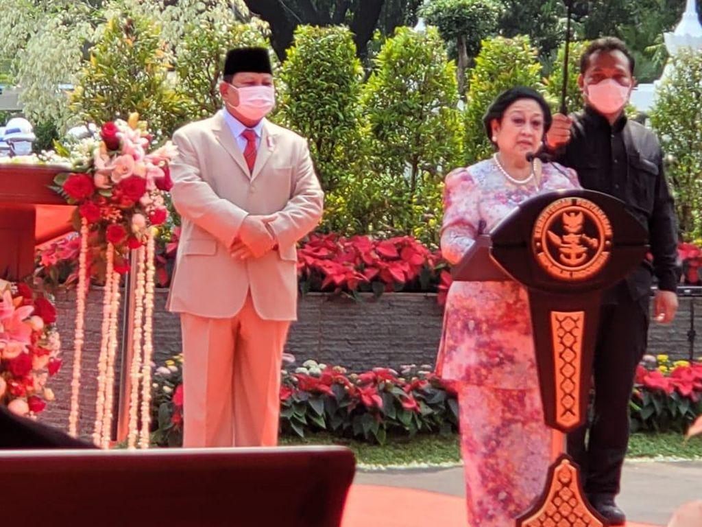 Wacana Mega-Prabowo, Gerindra: Dipicu Peresmian Patung