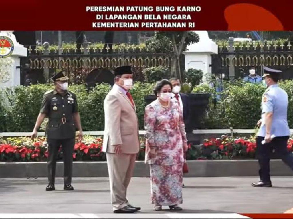 Megawati Soekarnoputri: Prabowo Sahabat Saya