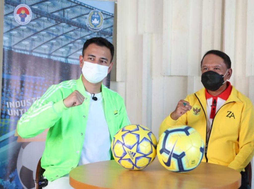 Raffi Ahmad hingga Gading Marten Beli Klub Bola, Menpora Buka Suara