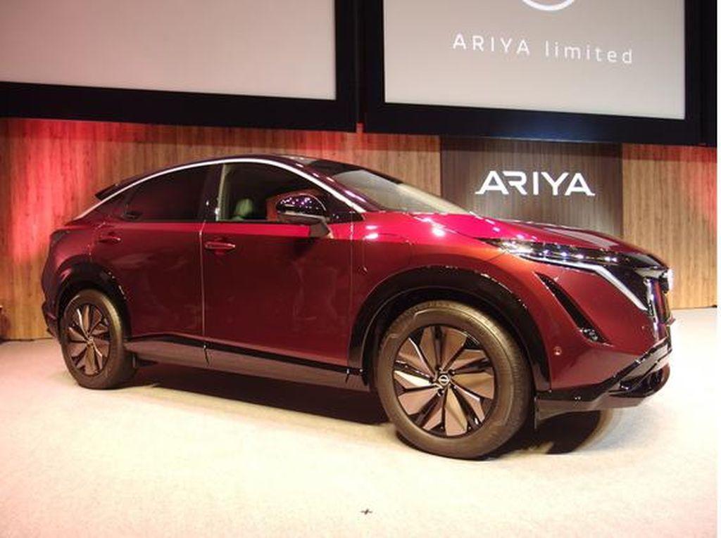 Nissan Ariya Limited Meluncur di Jepang, Ini yang Beda