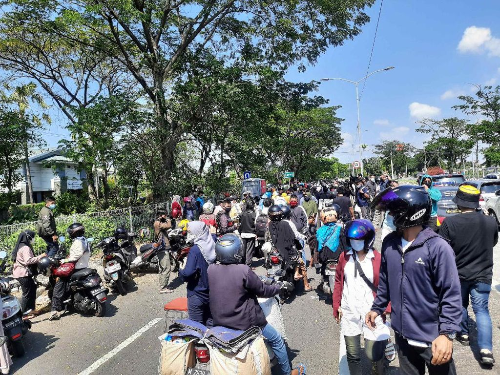 Pasca RSUD Bangkalan Lockdown, Suramadu Dijaga Ketat