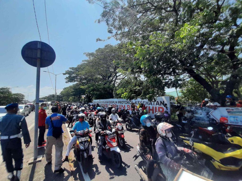 Razia Besar-besaran di Suramadu Usai RSUD Bangkalan Lockdown