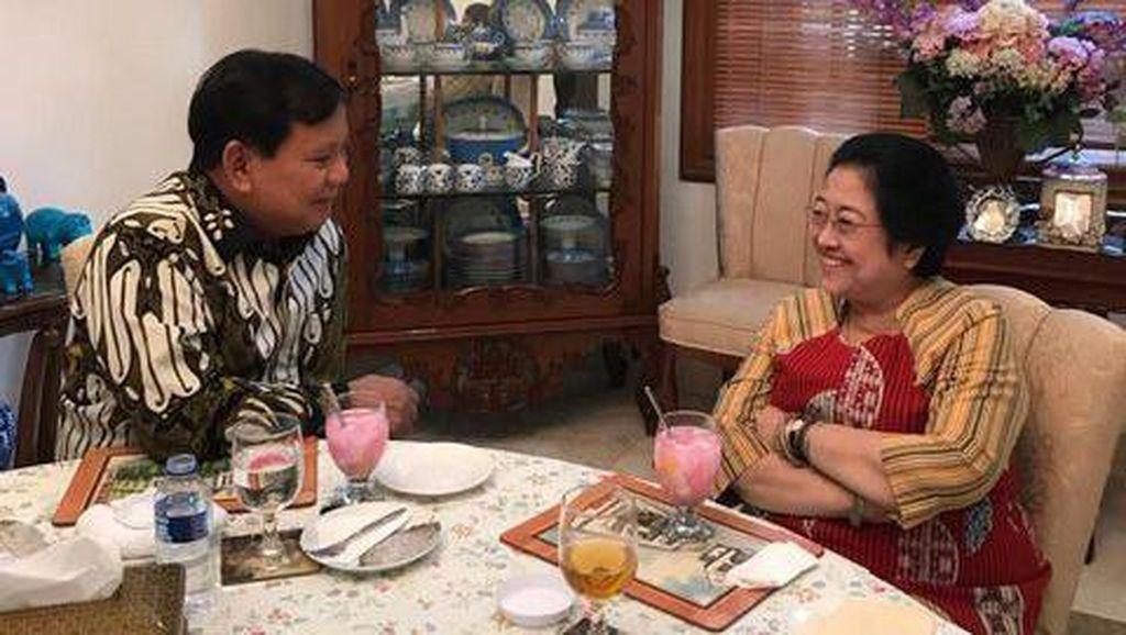 Momen Prabowo Saat Makan Bareng Megawati hingga Ngopi Bareng SBY