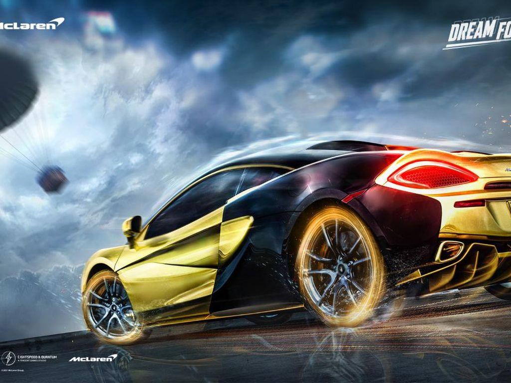 Supercar McLaren Muncul di PUBG Mobile
