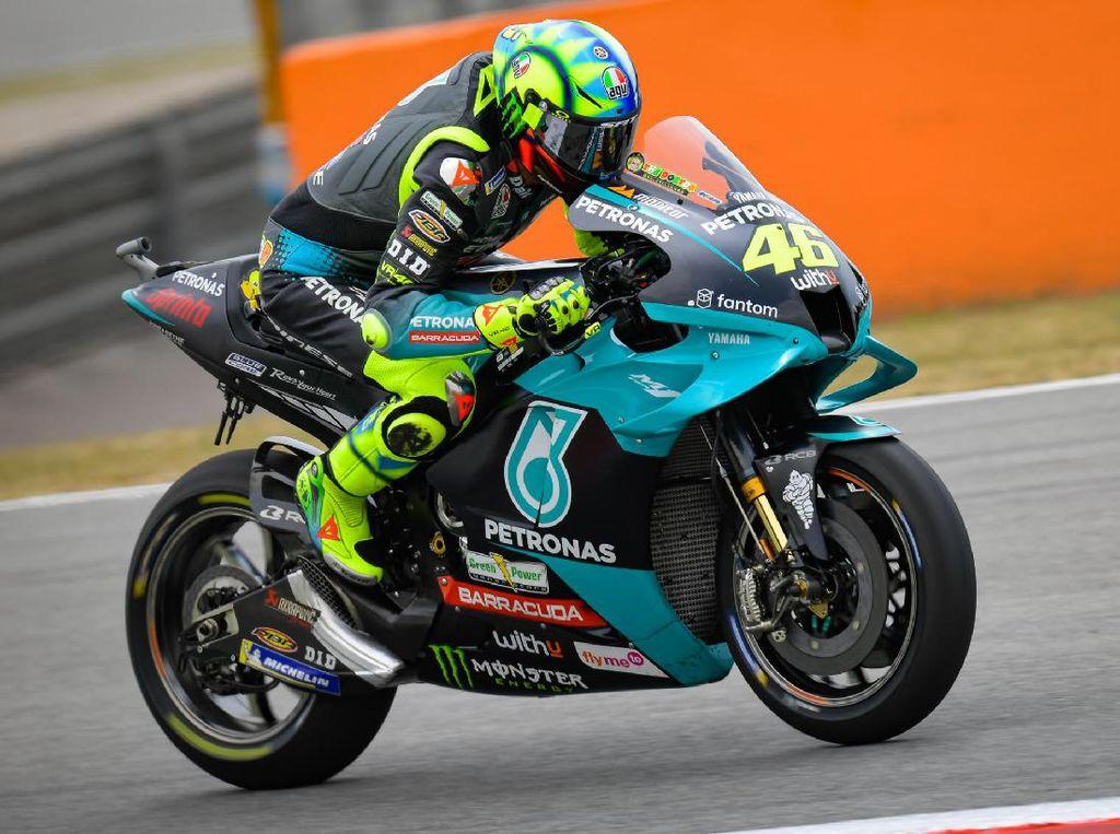 Gagal Lagi! Valentino Rossi Tiga Tahun Tidak Finish di GP Catalunya