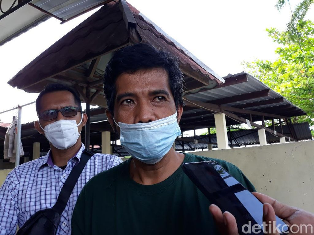 Permintaan Maaf Pelaku Sate Sianida ke Keluarga Naba Faiz